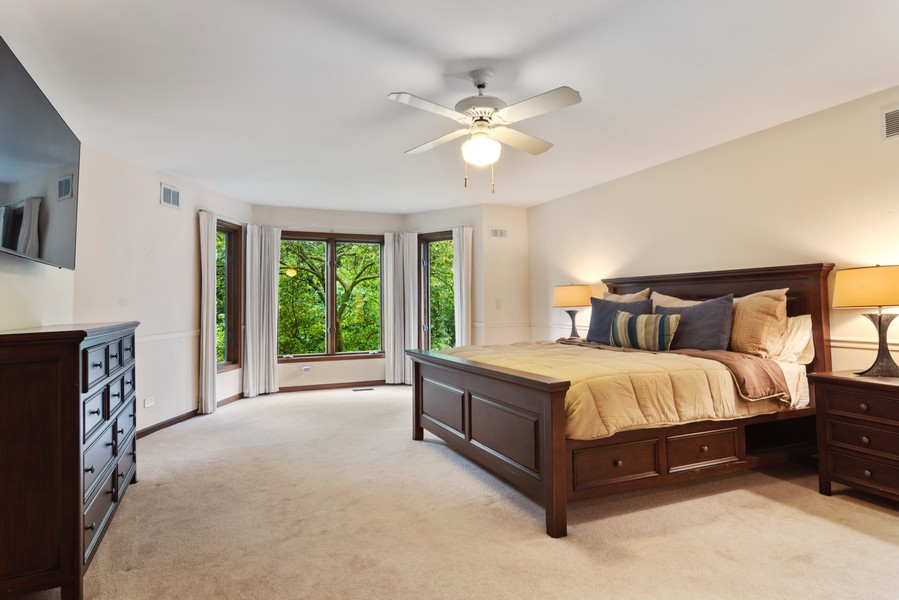 Real Estate Photography - 21710 N Hickory Ln, Barrington Hills, IL, 60010 - Master Bedroom