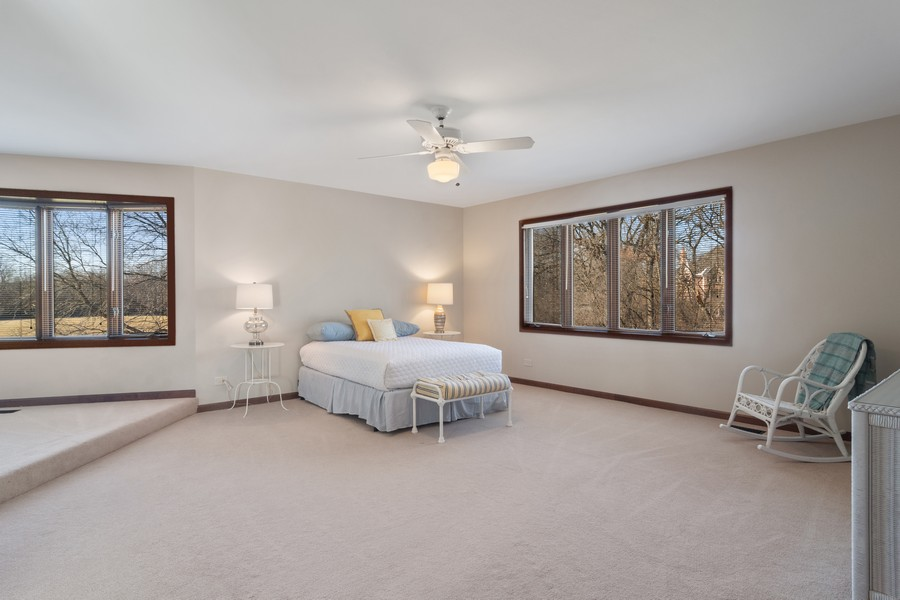 Real Estate Photography - 21710 N Hickory Ln, Barrington Hills, IL, 60010 - 2nd Bedroom