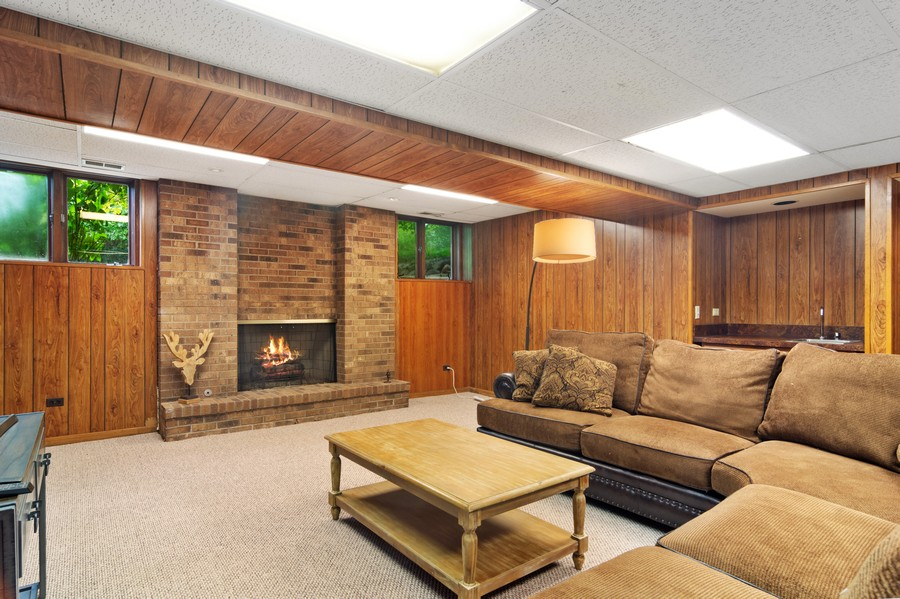 Real Estate Photography - 21710 N Hickory Ln, Barrington Hills, IL, 60010 - Lower Level