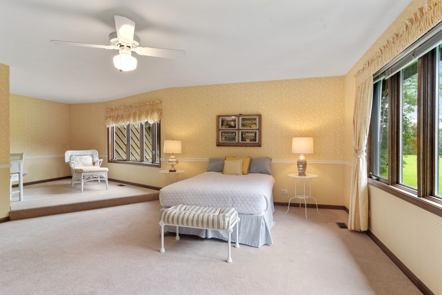 Real Estate Photography - 21710 N Hickory Ln, Barrington Hills, IL, 60010 - Bedroom