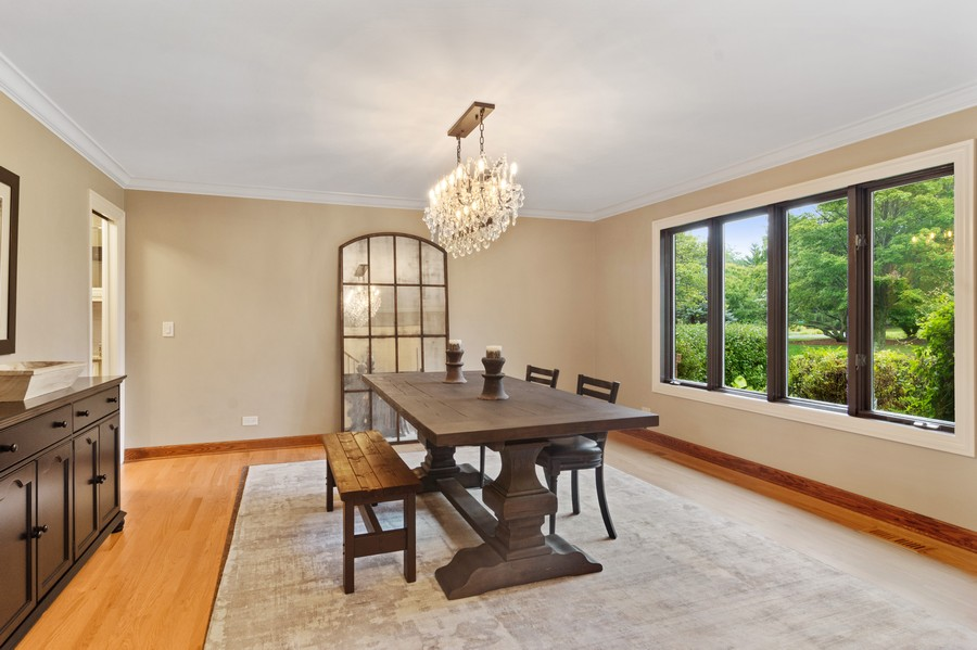 Real Estate Photography - 21710 N Hickory Ln, Barrington Hills, IL, 60010 - Dining Room