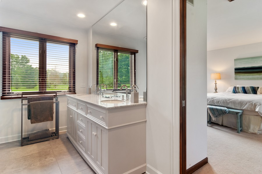 Real Estate Photography - 21710 N Hickory Ln, Barrington Hills, IL, 60010 - Bathroom
