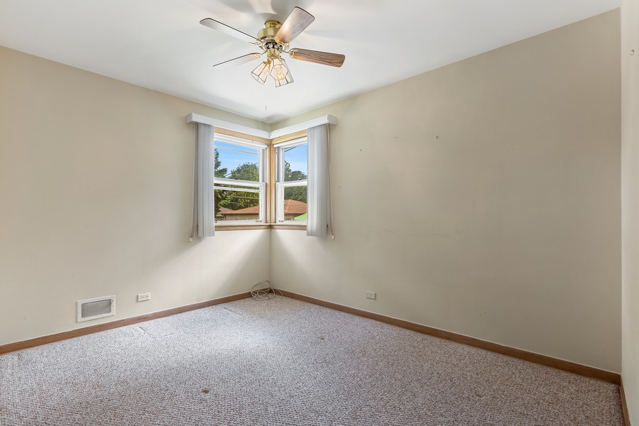 Real Estate Photography - 2451 Sunnyside, Westchester, IL, 60154 - Bedroom