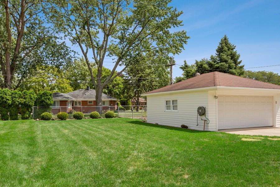 Real Estate Photography - 2451 Sunnyside, Westchester, IL, 60154 - Back Yard