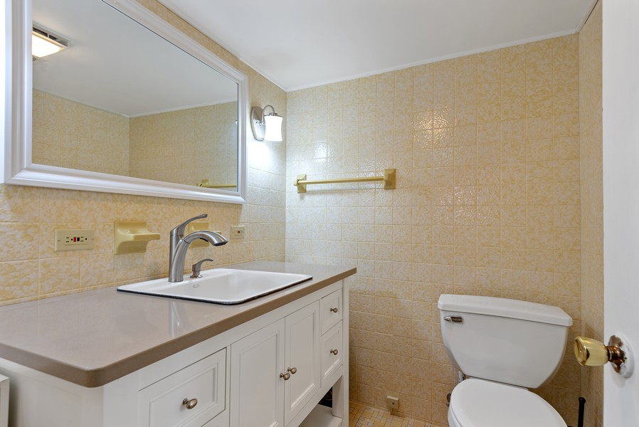 Real Estate Photography - 9515 Drake Ave, Evanston, IL, 60203 - 3rd Bathroom