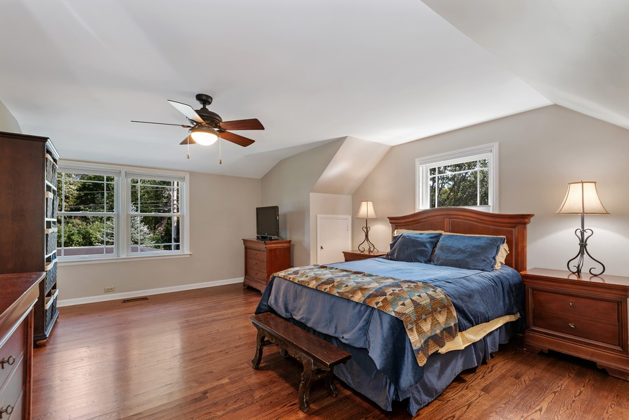 Real Estate Photography - 9515 Drake Ave, Evanston, IL, 60203 - Master Bedroom