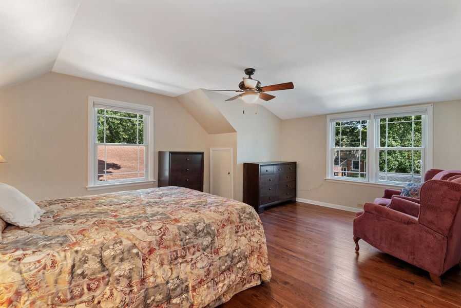 Real Estate Photography - 9515 Drake Ave, Evanston, IL, 60203 - Bedroom