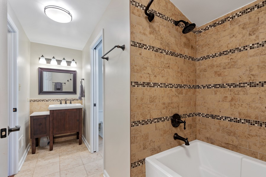 Real Estate Photography - 9515 Drake Ave, Evanston, IL, 60203 - Bathroom