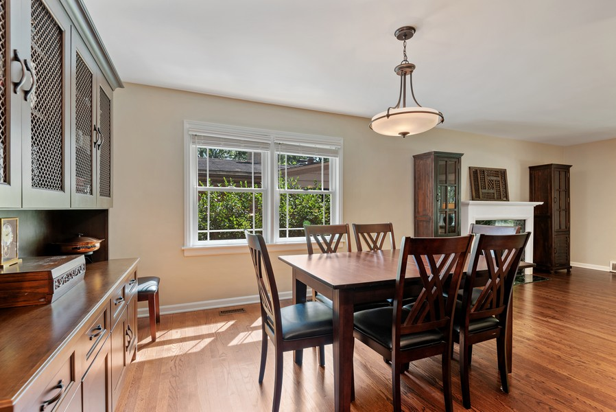 Real Estate Photography - 9515 Drake Ave, Evanston, IL, 60203 - Dining Room