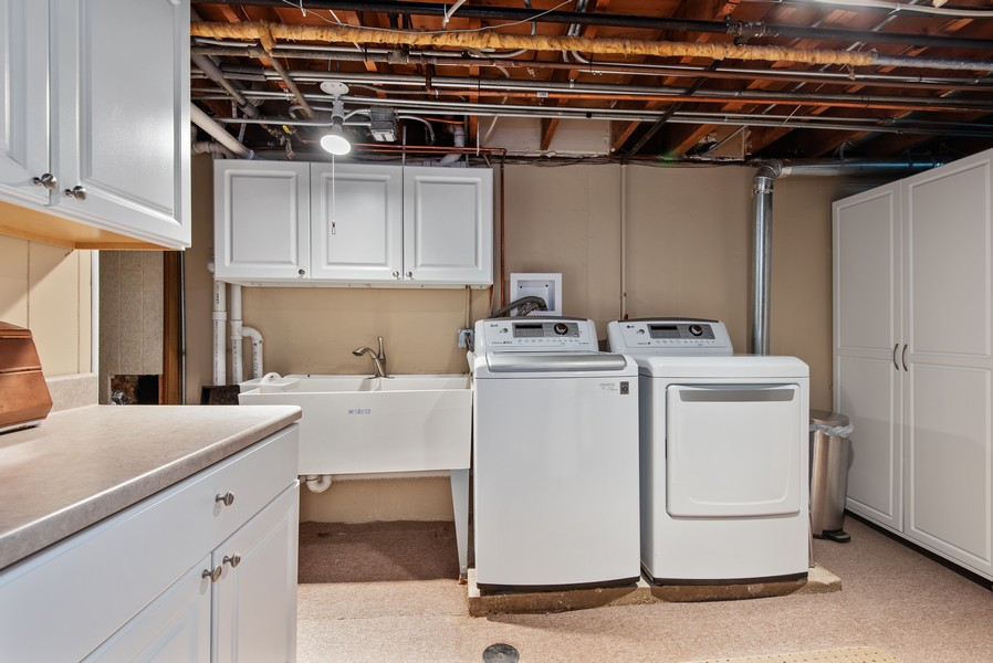 Real Estate Photography - 9515 Drake Ave, Evanston, IL, 60203 - Laundry Room
