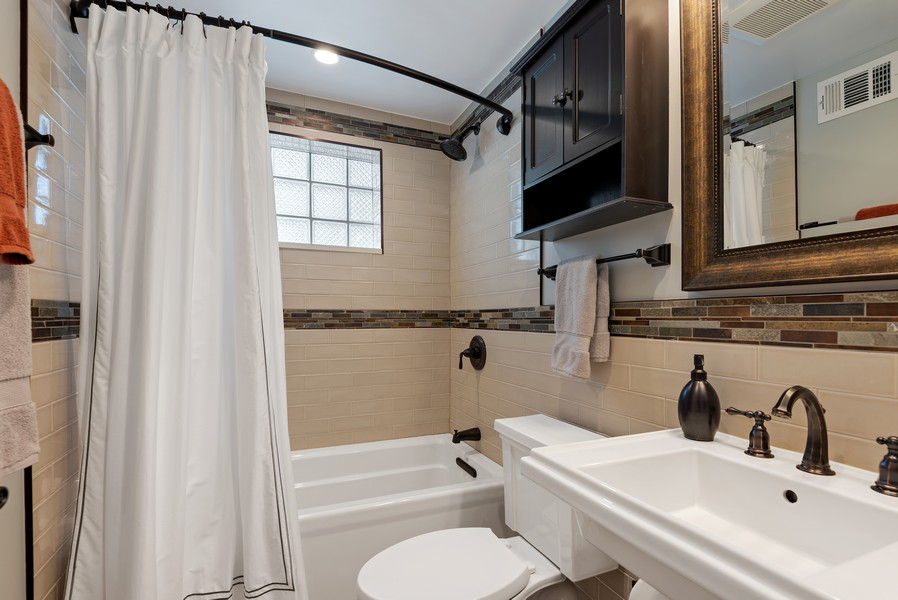 Real Estate Photography - 9515 Drake Ave, Evanston, IL, 60203 - 2nd Bathroom
