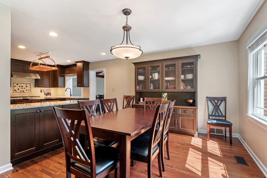 Real Estate Photography - 9515 Drake Ave, Evanston, IL, 60203 - Kitchen / Dining Room