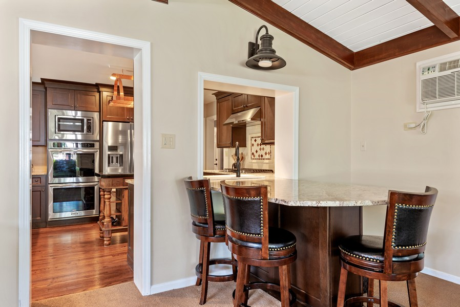 Real Estate Photography - 9515 Drake Ave, Evanston, IL, 60203 - Family Room / Kitchen