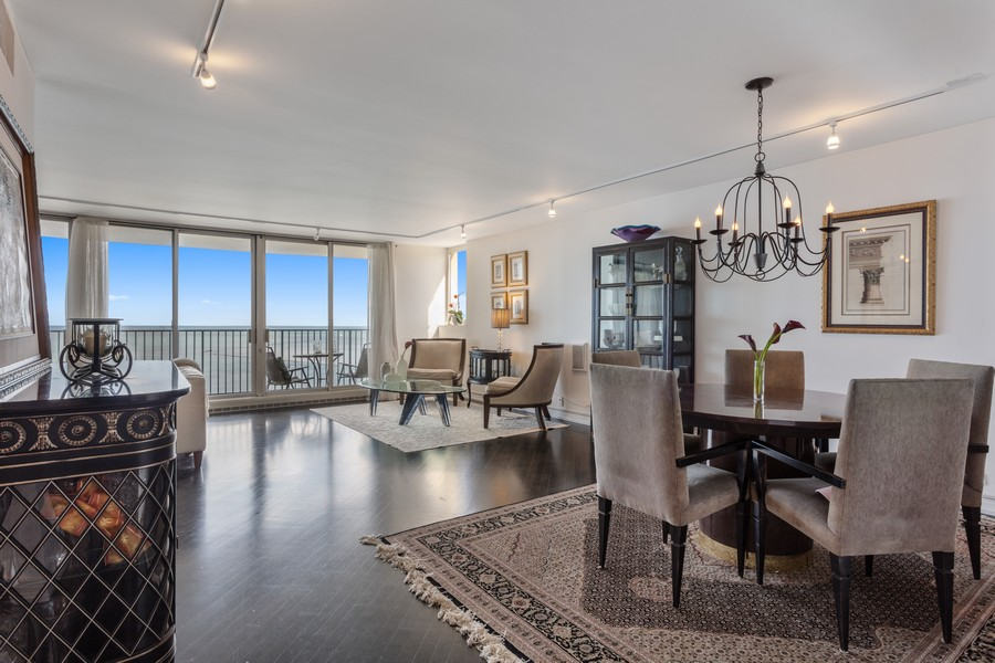 Real Estate Photography - 1212 N Lakeshore Dr, 25AS, Chicago, IL, 60610 - Living Room