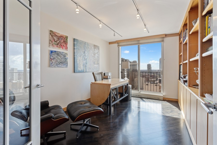 Real Estate Photography - 1212 N Lakeshore Dr, 25AS, Chicago, IL, 60610 - Bedroom