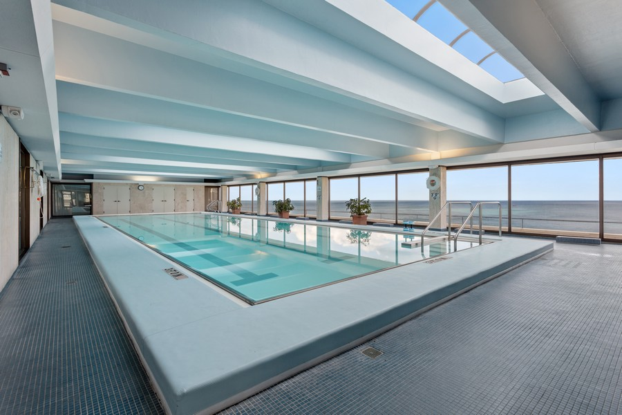 Real Estate Photography - 1212 N Lakeshore Dr, 25AS, Chicago, IL, 60610 - Pool