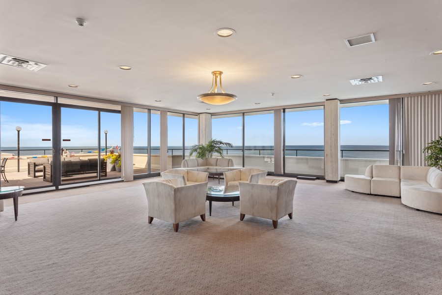 Real Estate Photography - 1212 N Lakeshore Dr, 25AS, Chicago, IL, 60610 - Play / Recreational Room