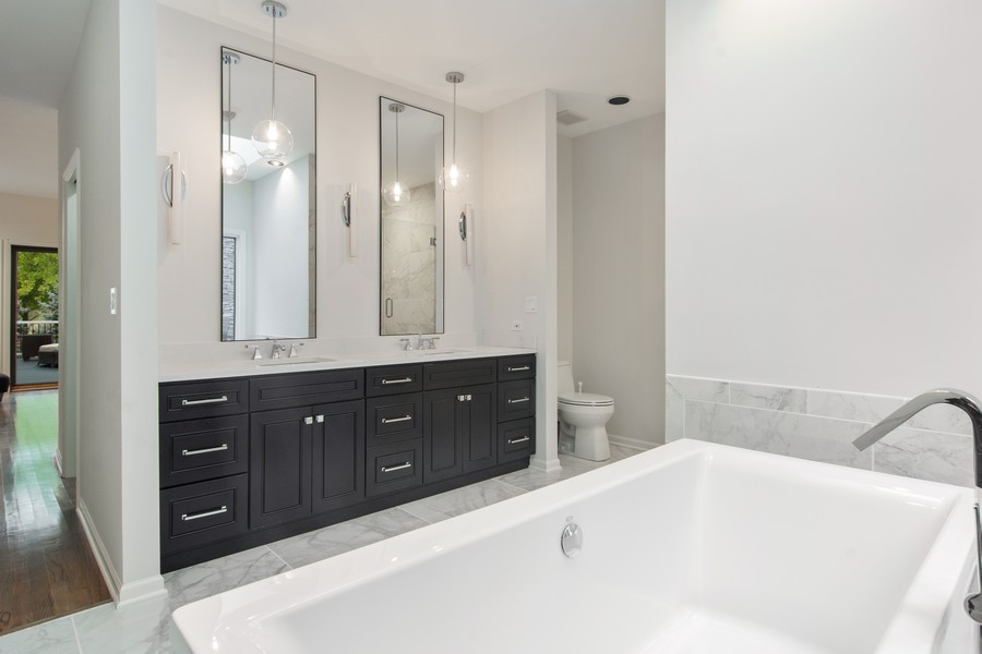 Real Estate Photography - 108 Haman Road, Inverness, IL, 60010 - Master Bathroom