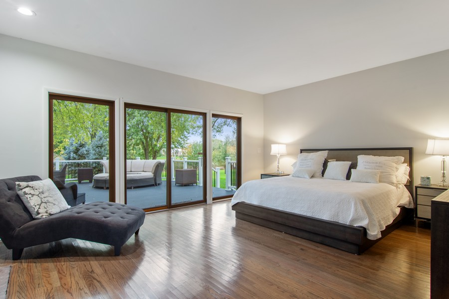 Real Estate Photography - 108 Haman Road, Inverness, IL, 60010 - Master Bedroom