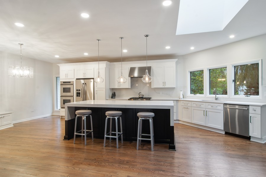 Real Estate Photography - 108 Haman Road, Inverness, IL, 60010 - Kitchen