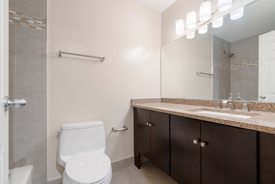 Real Estate Photography - 480 N McClurg Ct, #313, Chicago, IL, 60611 - 2nd Bathroom