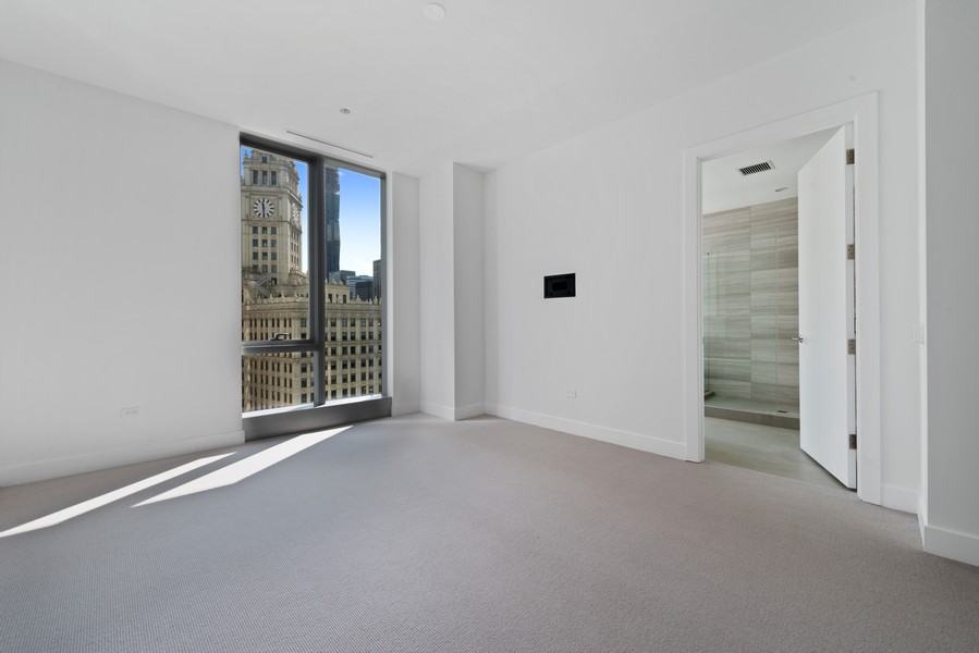 Real Estate Photography - 403 N Wabash, Ph B, Chicago, IL, 60611 - Master Bedroom