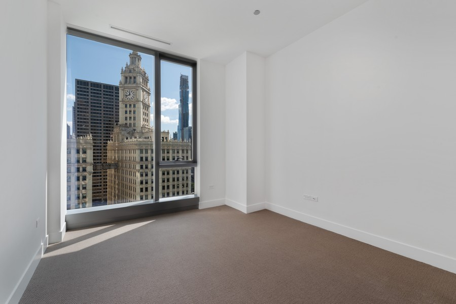 Real Estate Photography - 403 N Wabash, Ph B, Chicago, IL, 60611 - 2nd Bedroom