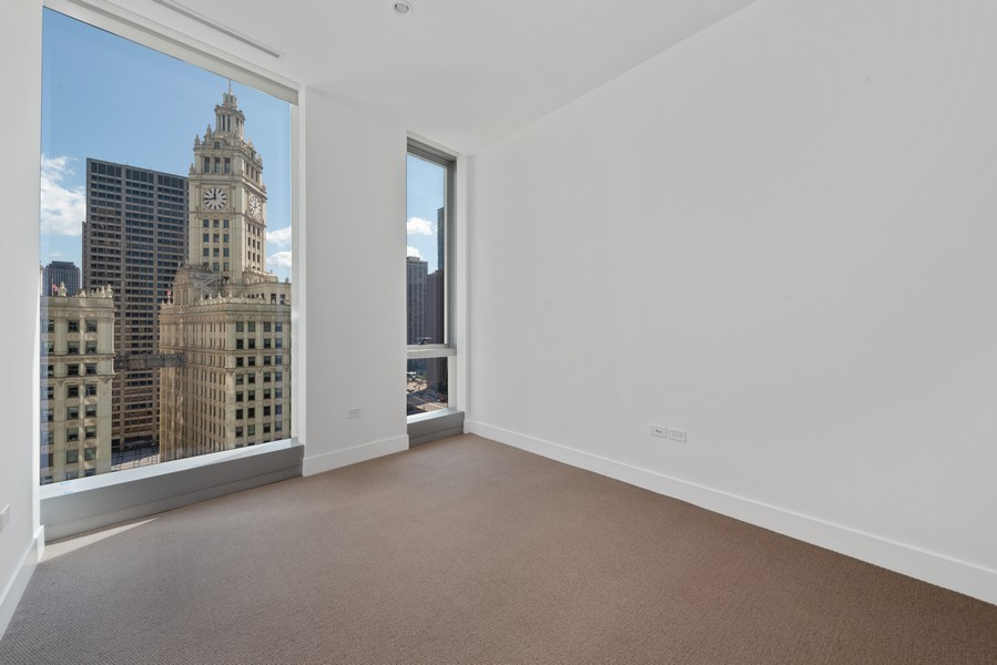 Real Estate Photography - 403 N Wabash, Ph B, Chicago, IL, 60611 - 3rd Bedroom