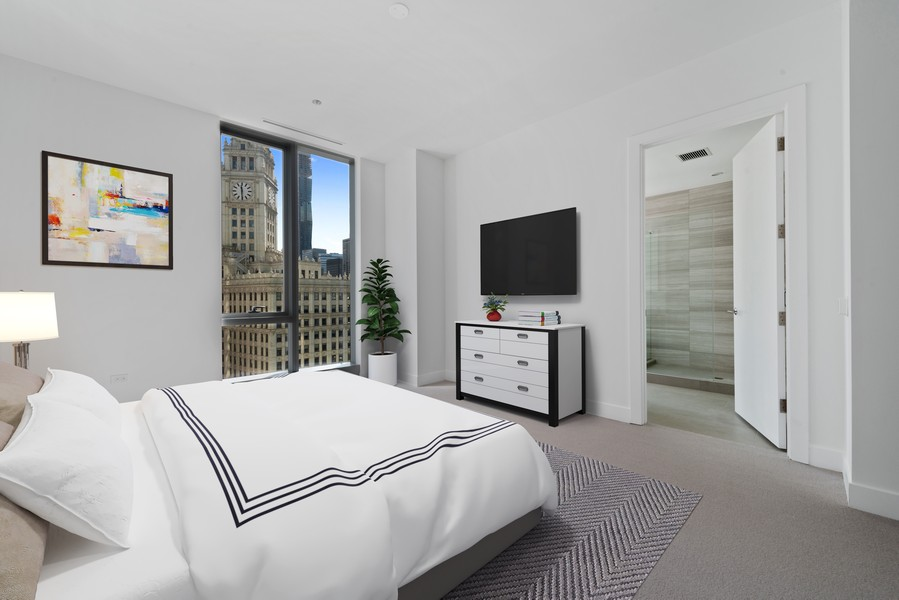 Real Estate Photography - 403 N Wabash, Ph B, Chicago, IL, 60611 -