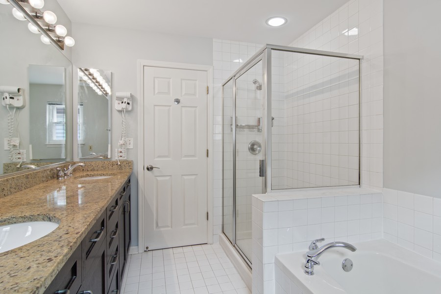 Real Estate Photography - 329 W Goethe, Chicago, IL, 60610 - Master Bathroom