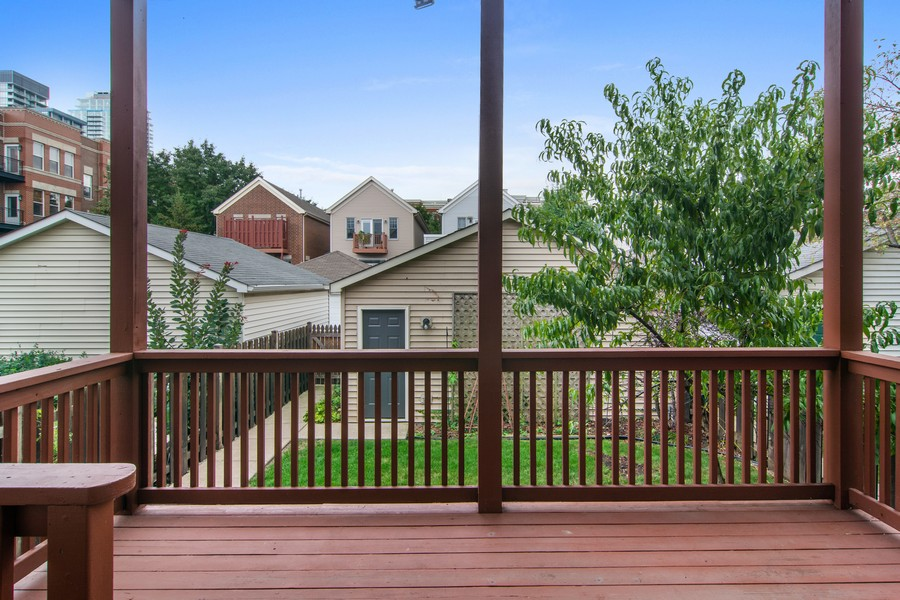Real Estate Photography - 329 W Goethe, Chicago, IL, 60610 - Deck