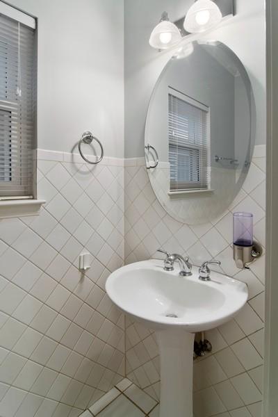 Real Estate Photography - 329 W Goethe, Chicago, IL, 60610 - Half Bath
