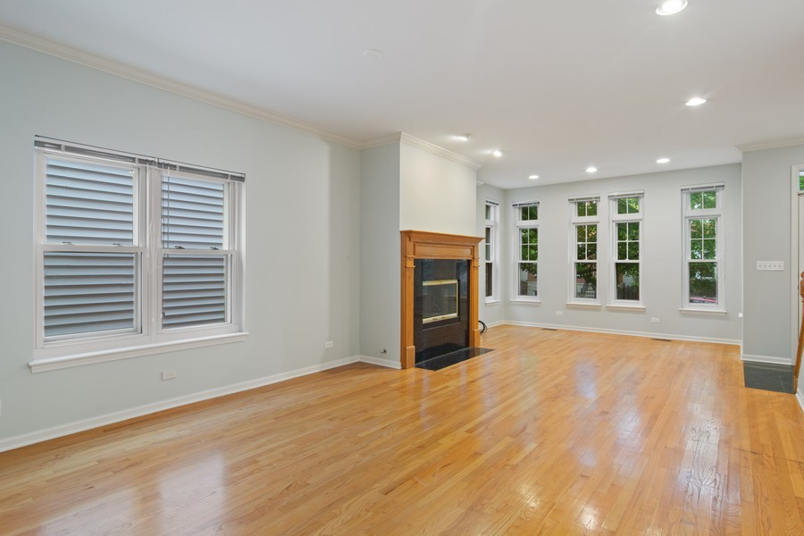 Real Estate Photography - 329 W Goethe, Chicago, IL, 60610 - Living Room/Dining Room
