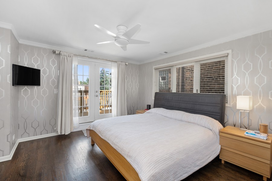Real Estate Photography - 2527 N Washtenaw, Chicago, IL, 60647 - Master Bedroom