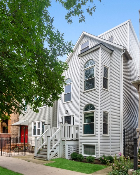 Real Estate Photography - 2527 N Washtenaw, Chicago, IL, 60647 - Front View