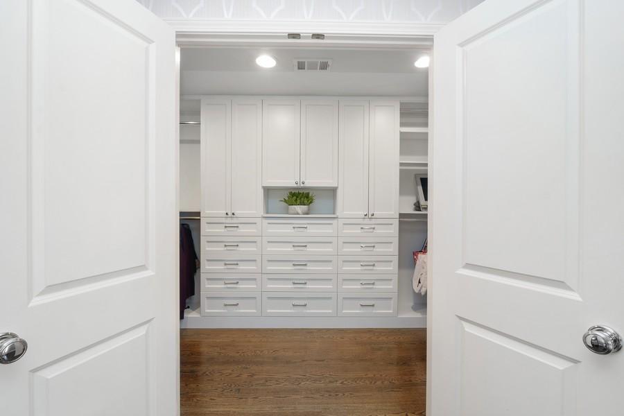 Real Estate Photography - 2527 N Washtenaw, Chicago, IL, 60647 - Master Bedroom Closet