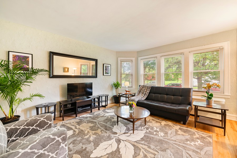 Real Estate Photography - 6321 N Oak Park Ave, Chicago, IL, 60631 - Living Room