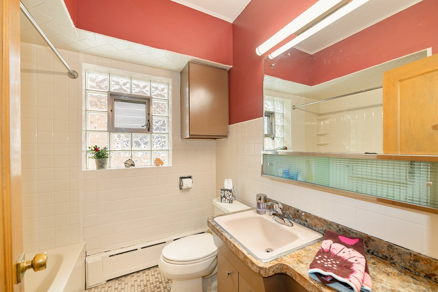 Real Estate Photography - 6321 N Oak Park Ave, Chicago, IL, 60631 - Master Bathroom