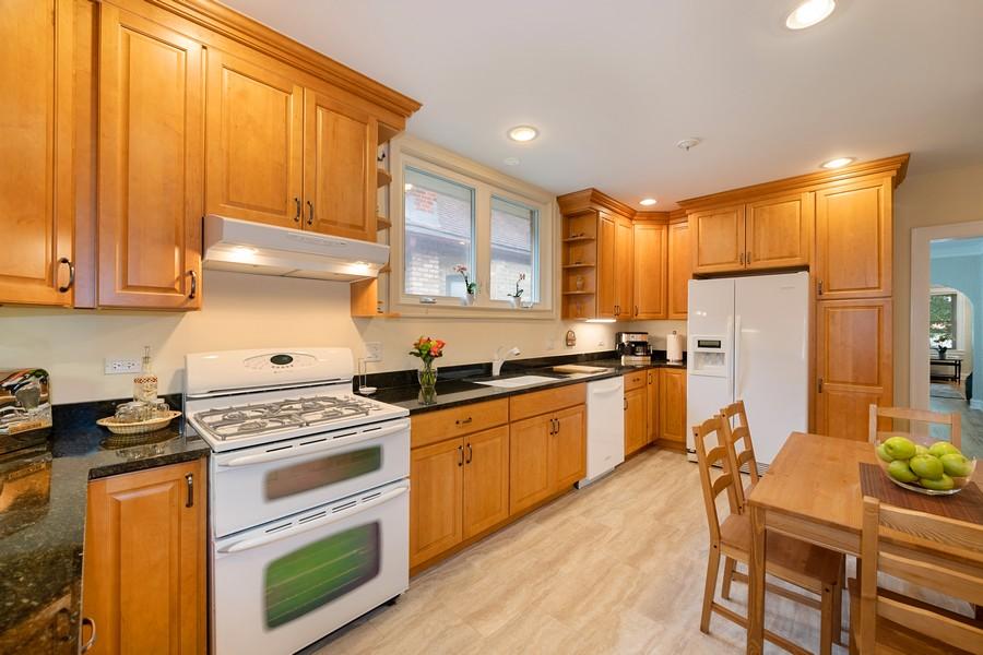 Real Estate Photography - 6321 N Oak Park Ave, Chicago, IL, 60631 - Kitchen