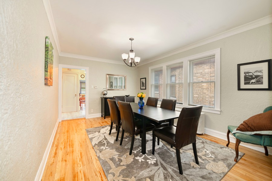 Real Estate Photography - 6321 N Oak Park Ave, Chicago, IL, 60631 - Dining Room