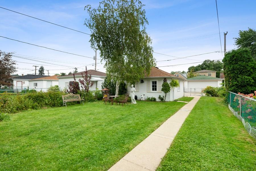 Real Estate Photography - 6321 N Oak Park Ave, Chicago, IL, 60631 - Back Yard