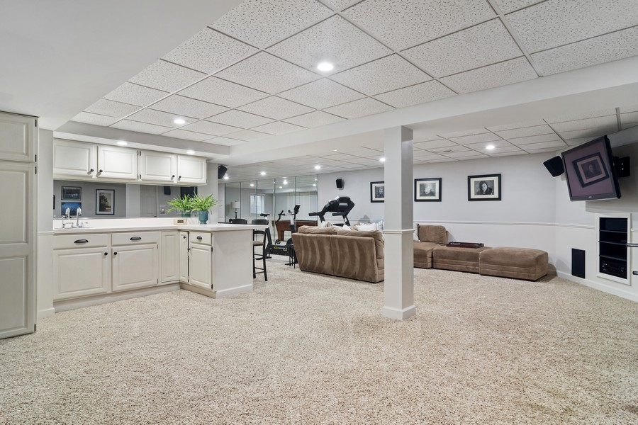 Real Estate Photography - 668 Stillwater, Barrington, IL, 60010 - Lower Level