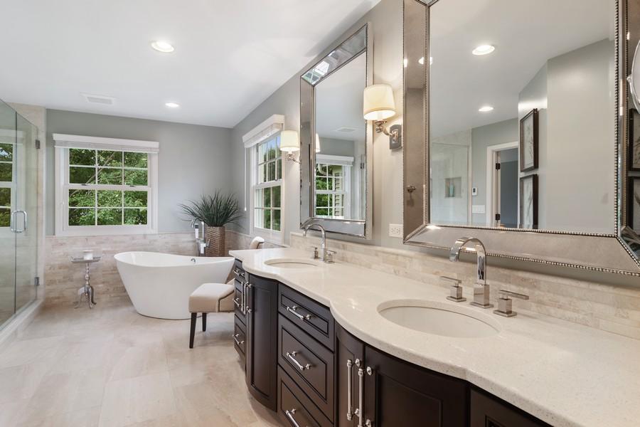 Real Estate Photography - 668 Stillwater, Barrington, IL, 60010 - Master Bathroom