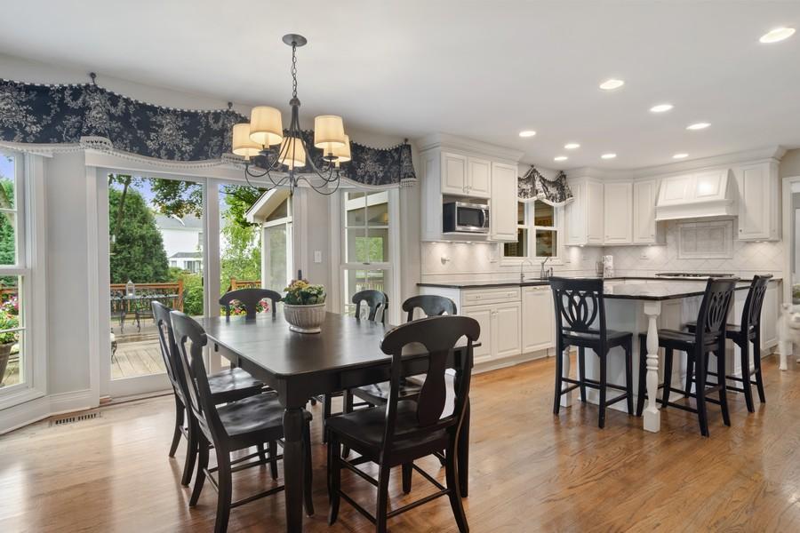 Real Estate Photography - 668 Stillwater, Barrington, IL, 60010 - Kitchen / Breakfast Room