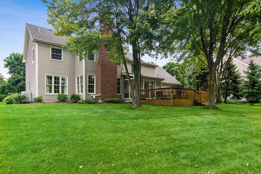 Real Estate Photography - 668 Stillwater, Barrington, IL, 60010 - Back Yard