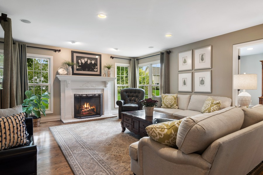 Real Estate Photography - 668 Stillwater, Barrington, IL, 60010 - Family Room