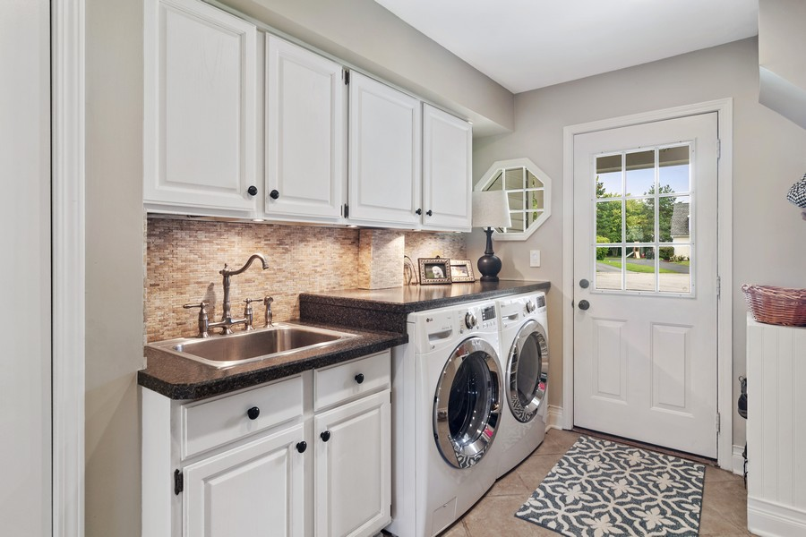 Real Estate Photography - 668 Stillwater, Barrington, IL, 60010 - Laundry Room