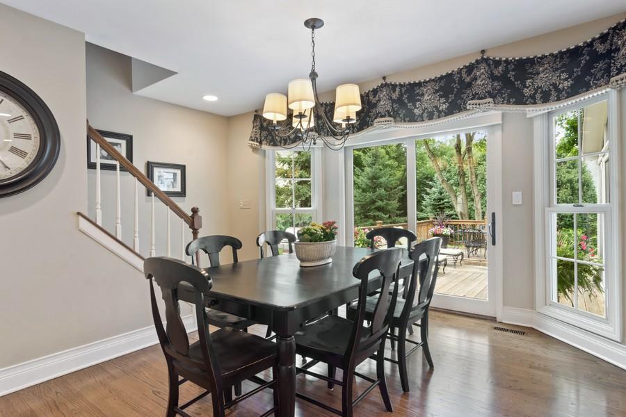 Real Estate Photography - 668 Stillwater, Barrington, IL, 60010 - Breakfast Nook