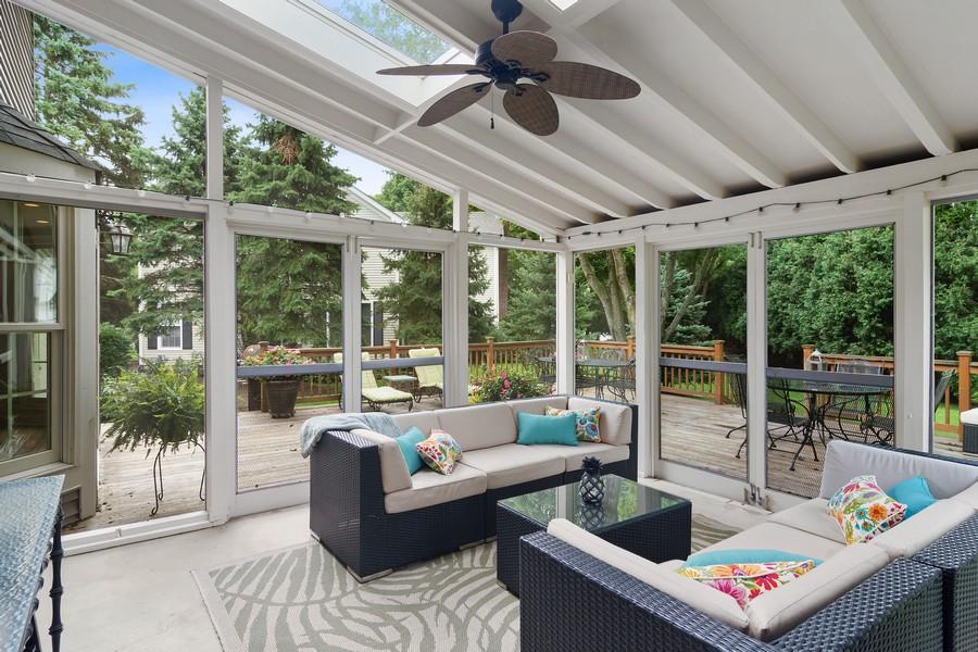 Real Estate Photography - 668 Stillwater, Barrington, IL, 60010 - Sun Room