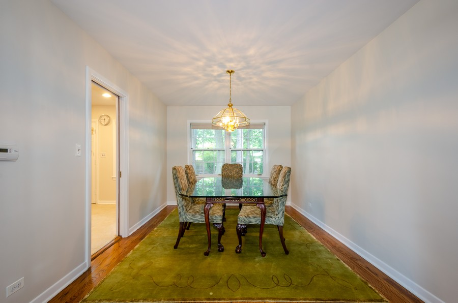 Real Estate Photography - 9632 Kildare, Skokie, IL, 60076 - Dining Room